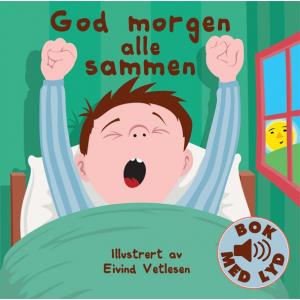 BARNEBOK MED LYD - GOD MORGEN ALLE SAMMEN