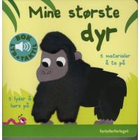 BARNEBOK MED LYD - MINE STØRSTE DYR