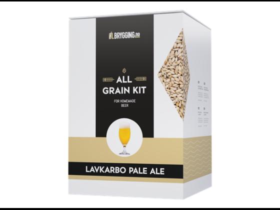 Lavkarbo Pale Ale allgrain ølsett