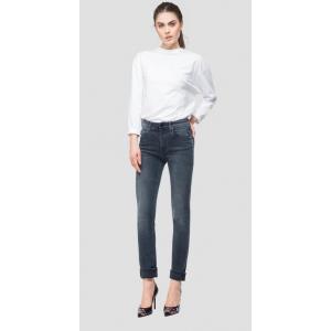 Blue-Black Overdyed Straight Fit Jacksy Jeans