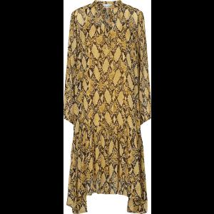 Snake Midi Dress
