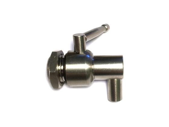 Kran i rustfritt stål - Ø:21mm