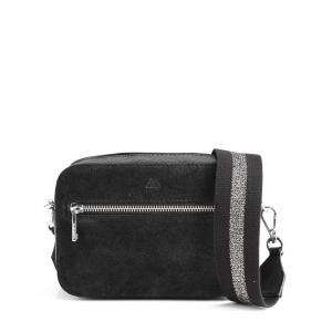 Elea Crossbody Bag, Suede Mix