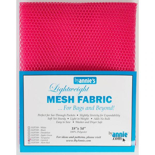 Mesh fabric rosa