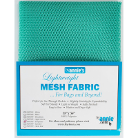 Mesh fabric turkis