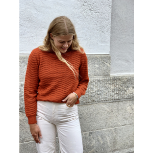 Bentrice knit Pullover - roolbos tea