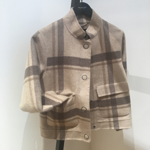 Terry Check Jacket