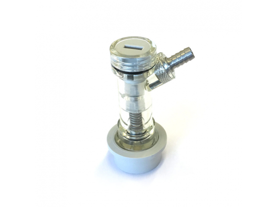 Ball Lock Co2 med tilbakeslagsventil med Nippel