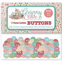 Cute Little Buttons Granny Chic Pack