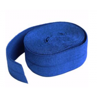 Blastoff Blue Fold-over Elastic 3/4in x 2yd