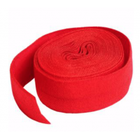 Atom Red Fold-over Elastic 3/4in x 2yd
