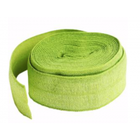 Apple Green Fold-over Elastic 3/4in x 2yd