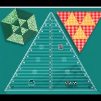 Creative Grids Non-Slip 60° Triangle Ruler 12