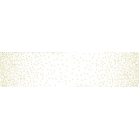 Ombre confetti metallic white