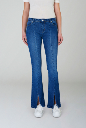 Uma Jeans Blue Split