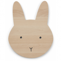 LIEWOOD - TROY WOODEN LAMP RABBIT NATURAL