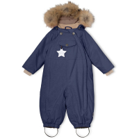 MINI A TURE - WISTI FUR VINTERDRESS PEACOAT BLUE