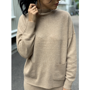 Eya cashmere pocket knit