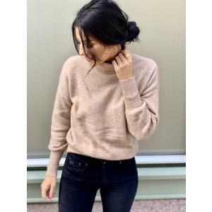 Cindy rollneck knit pullover