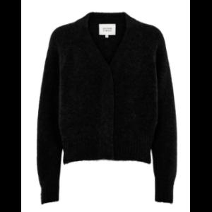 Brook knit boxy knit - black