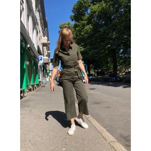 Vicki cargo jumpsuit grønn