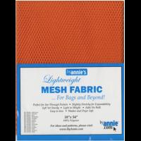 Pumpkin Lightweight Mesh Fabric - 18x54in