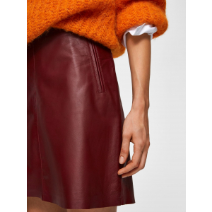 Nini Leather Skirt