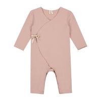GRAY LABEL - BABY CROSSOVER SUIT VINTAGE PINK