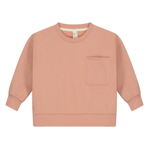 GRAY LABEL - BOXY SWEATER RUSTIC CLAY