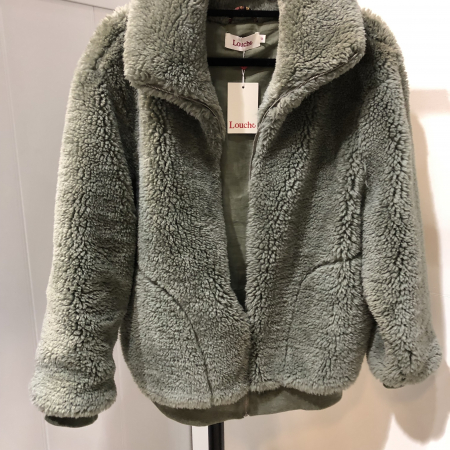 Woody Faux Sheepskin Jacket