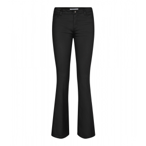 Denzel Coated Boot Cut Jeans