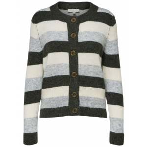Sia Stripe Cardigan