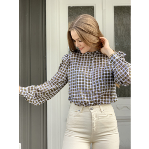 Peace blouse - army