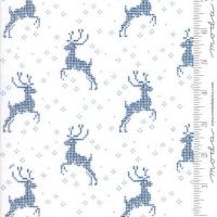 Nordic stitches blå reinsdyr