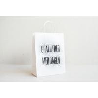 """Gratulerer med dagen"" gavepose fra Papirkort"
