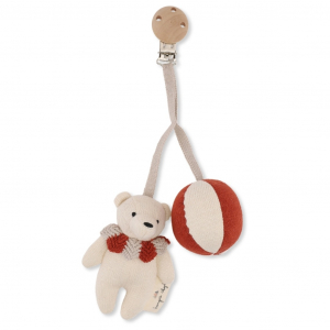 KONGES SLØJD - BEAR PRAM TOY TOFFEE