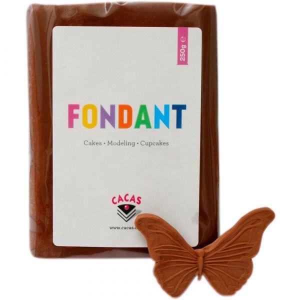 Fondant Cacas Brun Sjokolade smak 250g