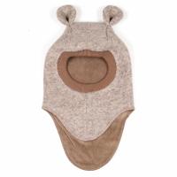 HUTTELIHUT - ELEFANTHUT WOOL EARS CAMEL