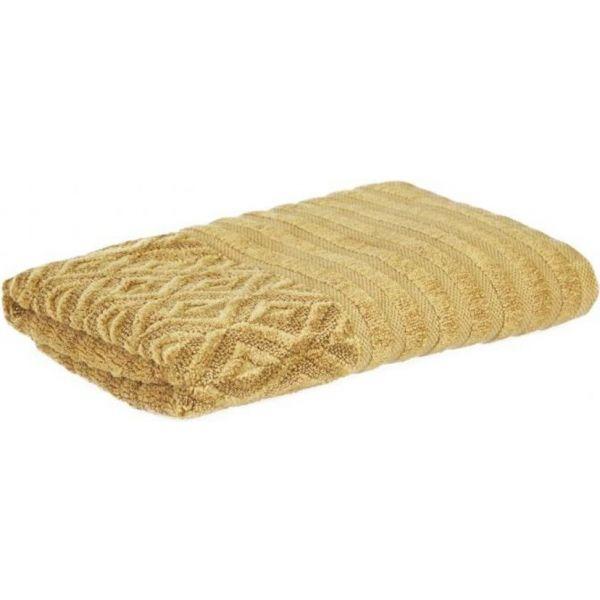 Stone towel mustard 46x94cm