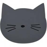 LIEWOOD - SPISEBRIKKE CAT STONE GREY