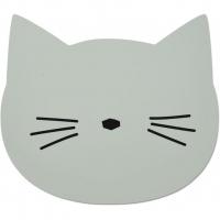 LIEWOOD - SPISEBRIKKE CAT DUSTY MINT
