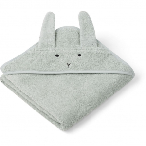 LIEWOOD - HÅNDKLE BABY RABBIT DUSTY MINT