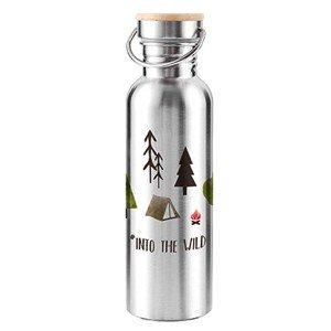 Vannflaske i stål Into the wild