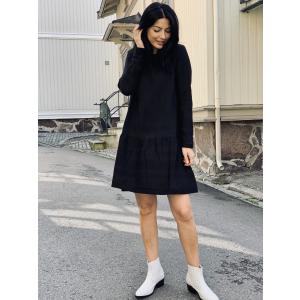 Dress 2, long sleeves - black