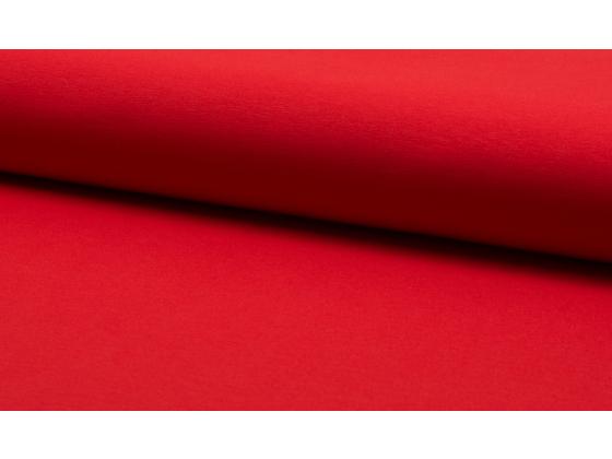 Bomullsjersey  rød