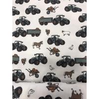 Jersey traktor og dyr