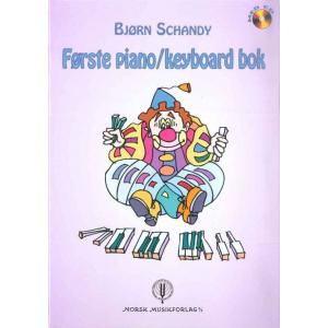 Første piano/keyboard bok