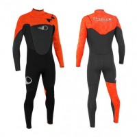 Sooruz FIGHTER 4/3 Fullsuit Zip Free Orange