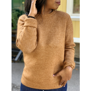 Brook Knit New O-Neck- Argan Oil