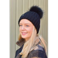 Rock and blue HAT POM POM BEANIE
